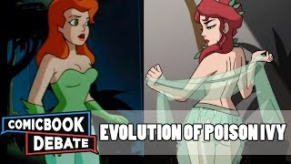 Evolution of Poison Ivy in Cartoons in 13 Minutes (2018)