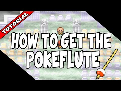 How to get the Poke Flute on Pokemon Fire Red