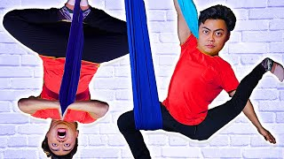 Download Trying Aerial Yoga For The First Time.. Video