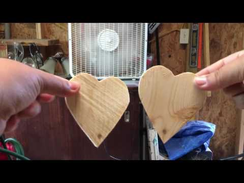 How to Make Wood Hearts