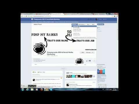 Facebook Fan Page Vanity URL