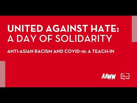 [WEBINAR] Anti-Asian Racism and COVID 19: A Teach-In