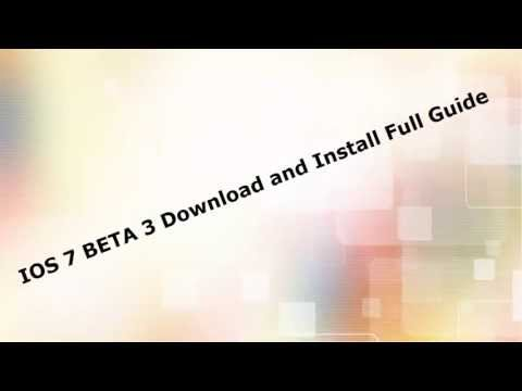 IOS 7 Beta 4 Download Links And Guide to install