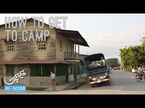 How To Get To Camp in Costa Rica