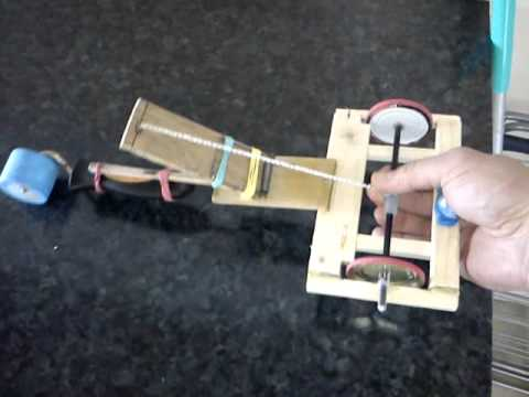Fast Simple Mousetrap (spring) car