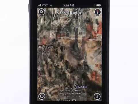 Google Earth para iPhone y iPad