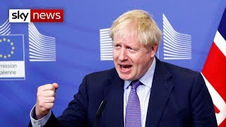 EU and UK agree Brexit deal