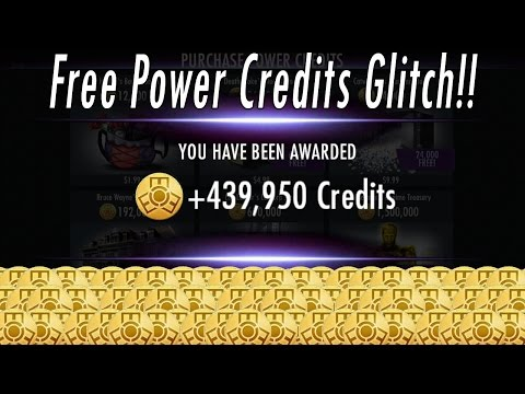 HOW TO GET UNLIMITED FREE INJUSTICE POWER CREDITS/COINS/MONEY (NO HACKS)! WORKING iPhone GLITCH