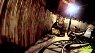 Van Helsing´s Factory @ Moviepark Germany POV (with Work-Lights) | HD