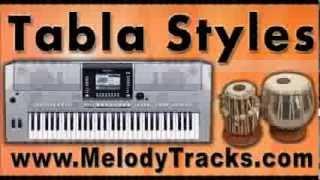 Tum saath ho jab apne - Tabla Styles Yamaha Keyboards indian Kit for Bollywood Songs - Classic SET 4