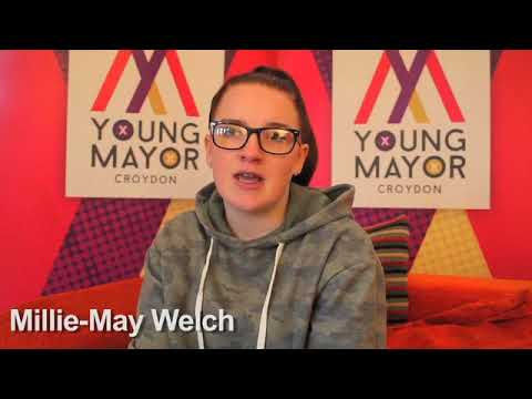 Croydon Young Mayor candidate - Millie May Welch