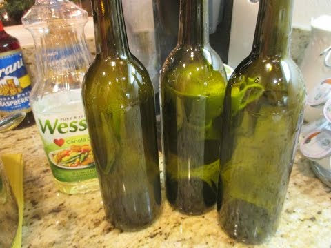 Removing Labels From Wine Bottles: DIY - asimplysimplelife