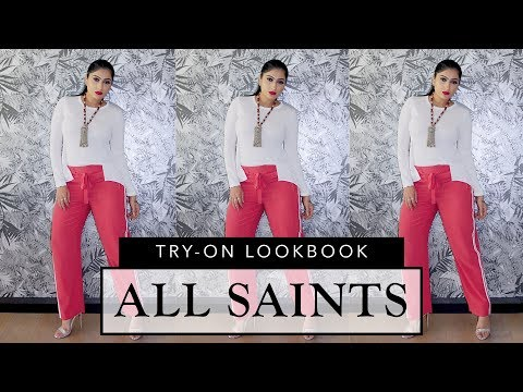 ALL SAINTS TRY-ON LOOKHAUL!!   Sonal Maherali