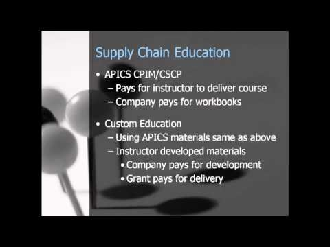 How to Get Grant Money for Supply Chain Education