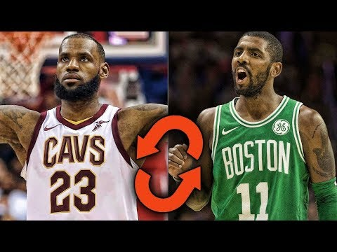 What if LeBron James and Kyrie Irving SWITCHED TEAMS?