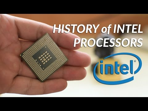 The History of Intel Processors