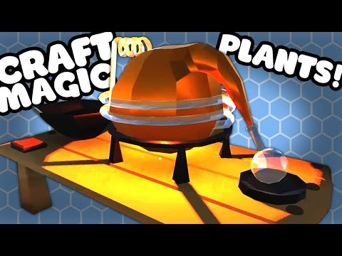 POTIONS AND PLANTS - Alchemy Garden Gameplay