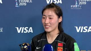 Peng Shimeng – Player of the Match – China PR v Spain