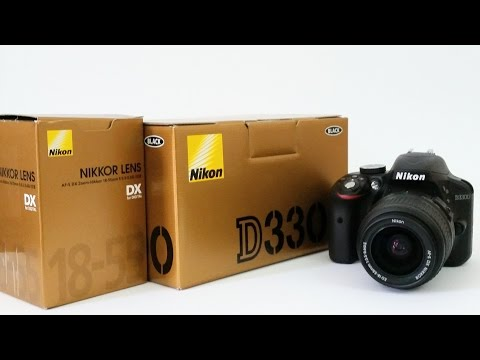 nikon d3300 unboxing. .d3300  فتح صندوق كاميرا نيكون
