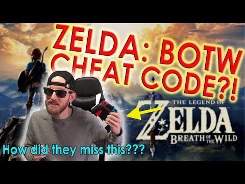 HOW DID THEY MISS THIS?? Zelda BOTW Cheat Code