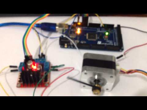 Stepper Motor Control using L298N