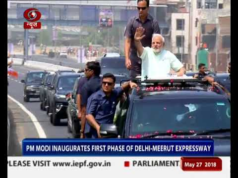 PM dedicates the Eastern peripheral Expressway to the nation