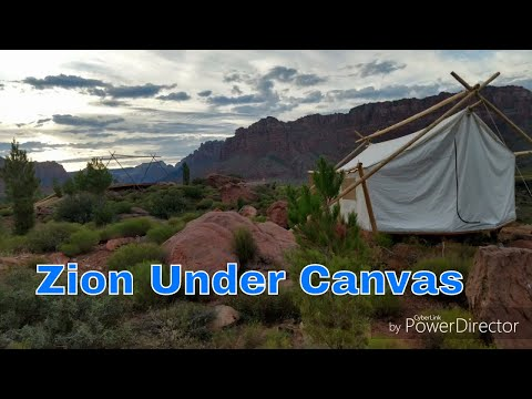 Zion Under Canvas preview. Southern Utah glamping
