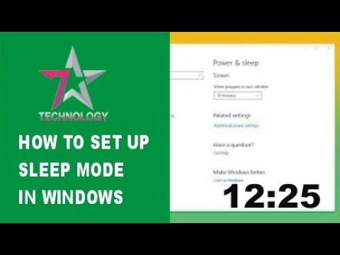 How To Disable Auto Sleep Mode In Windows 7, 8, 8.1, 10 in 2018 💻 💤 ⏰