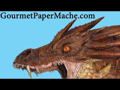 Paper Mache Smaug