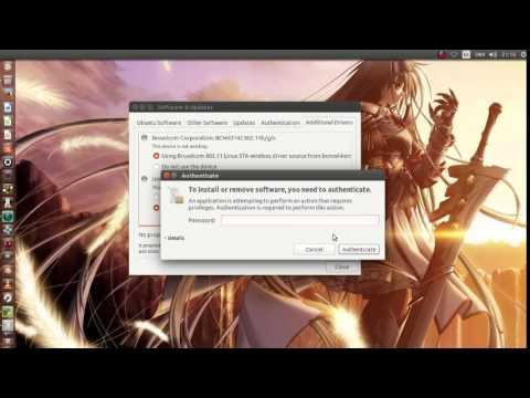 Cara Install Enable WiFi di ubuntu