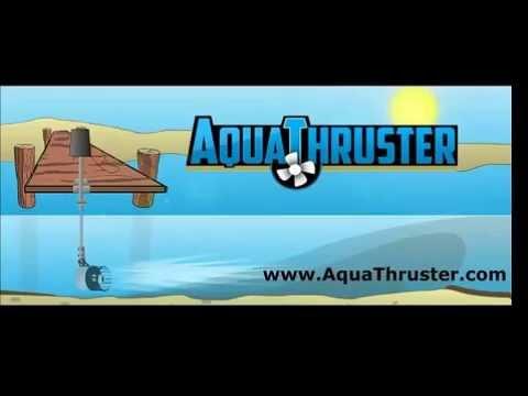 Aqua Thruster - Aquatic Lake Weed & Muck Removal / Management Tool