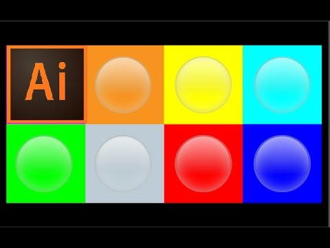 How to Create Transparent Bubbles in Adobe Illustrator | Graphics Ideas