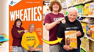 We got put on a cereal box!