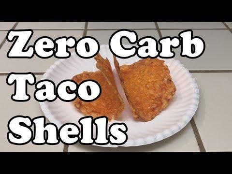 Keto Recipe (Low Carb): Zero Carb Taco Shells