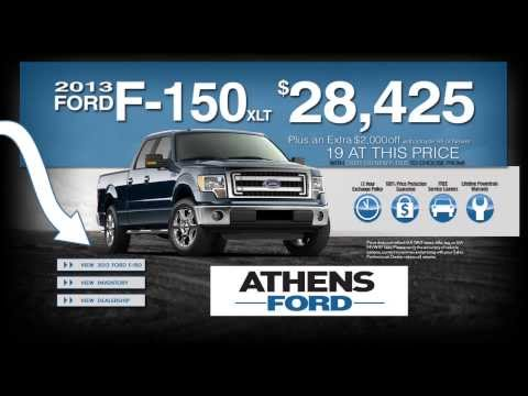 Athens Ford - 2013 Ford F-150 Sales Event
