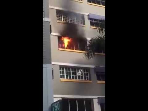HDB Fire in action