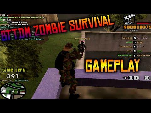 BTTDM SAMP Zombie Survival Gameplay