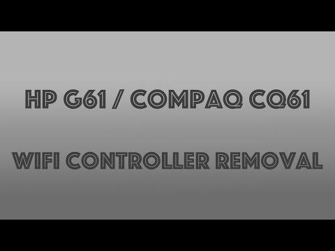 Compaq CQ61 / HP G61 Wifi Controller Removal