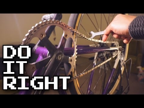 Easy Way to Tension Your Fixed Gear Chain