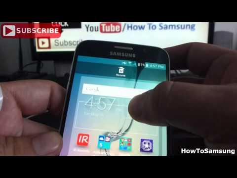How do I uninstall Widget from Samsung Galaxy S6 Basic Tutorials
