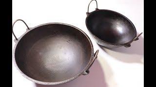 ഇനി ഇത് അറിയില്ല എന്ന് പറയരുത്  ഇരുമ്പ് ചട്ടി മയക്കി എടുക്കുന്നത് /How to Season Iron Pan ||| Ep 296
