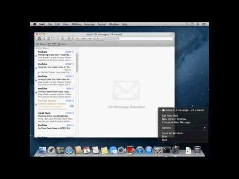 Setup your Gmail account in Mac Mail