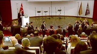 Эрдоган хлопнул дверью