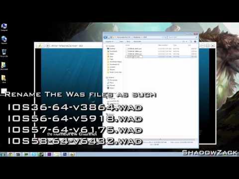How To Install d2x v10 for vWii - USB Loading [WiiU]