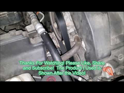 2005 Honda Pilot Serpentine Belt Replacement - How to