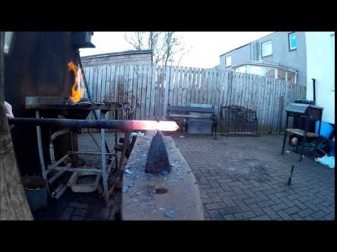 hot cut cutting round bar