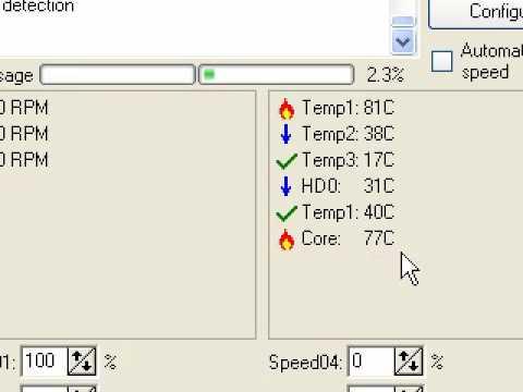 CPU Temperature HOT