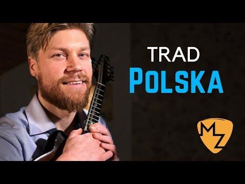 Mandolin Solo - Nordic Folk Music - Polska from Sörmland