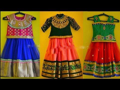 Latest kids Trational Pattu Pavadai Collections - She Fashion