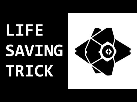 DESTINY 2 - LIFE SAVING TRICK